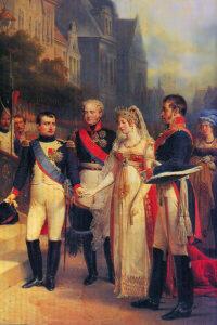 Николя Госсе. Тильзитское свидание 1807 г