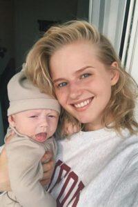 Саша Бортич с сыном