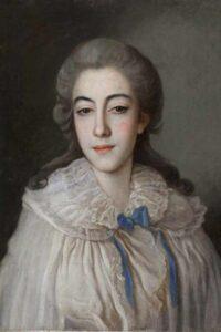 Свадебный портрет Е.И Голенищевой-Кутузовой