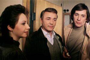 Екатерина и Леонид Куравлевы вместе с Александром Абдуловым